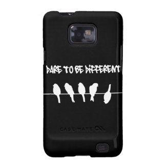 Birds on a wire – dare to be different (black) galaxy SII cases