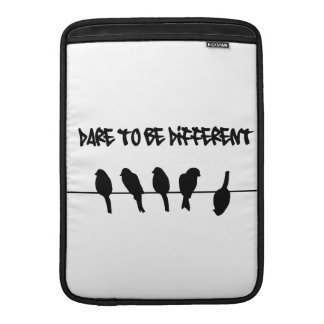 Birds on a wire – dare to be different MacBook air sleeve