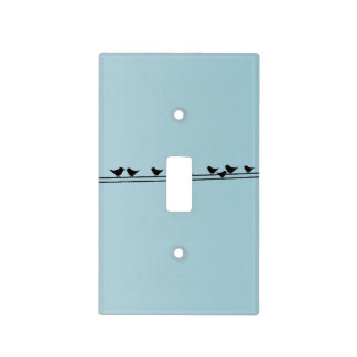 Birds on a Wire Light Switch Cover