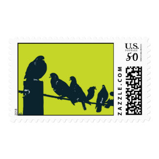 Birds on a Wire Postage