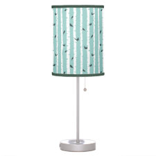 Birds on Bark Table Lamp