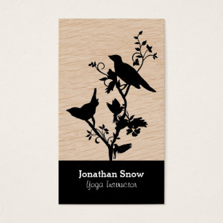 Birds on Branches - Creative Business Card