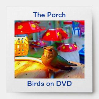 Birds on DVD/CD Envelope