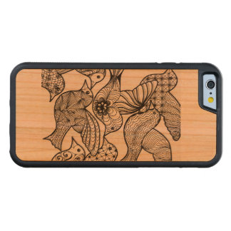 Birds on iPhone Carved Cherry iPhone 6 Bumper Case