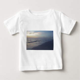 Birds on the Beach at Sunset Baby T-Shirt