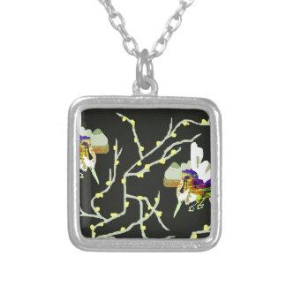 Birds on The Tree Custom Necklace