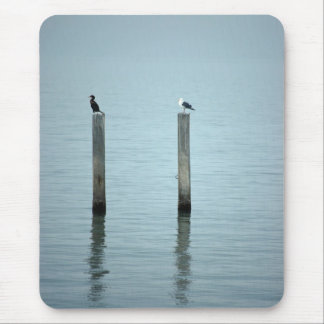 Birds on the Water Mouse Pad