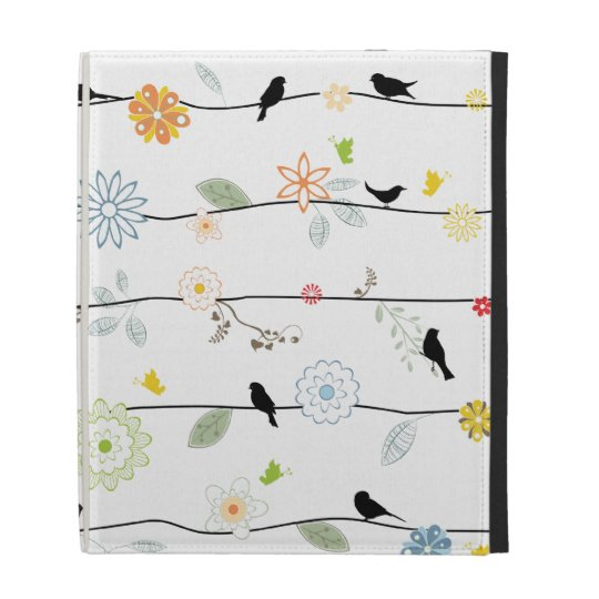 Birds on Vines iPad Case