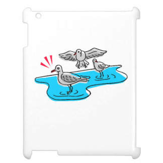 Birds On Water iPad Cover