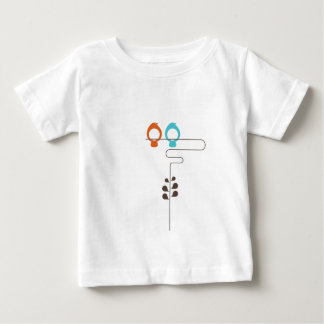 Birds on Wire Baby T-Shirt