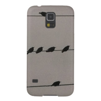 Birds on Wire Galaxy S5 Cover