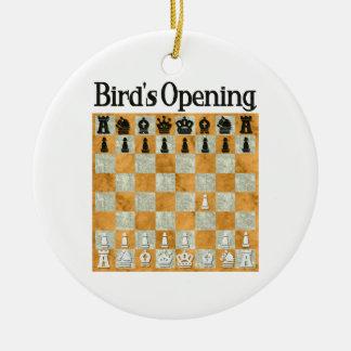Bird's Opening Ornament