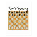Bird's Opening Postcard