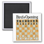Bird's Opening Refrigerator Magnet