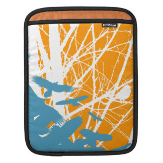 Birds Outdoors Sleeve For iPads