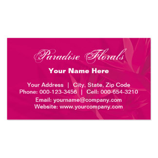birds paradise.pink ~ bc Double-Sided standard business cards (Pack of 100)