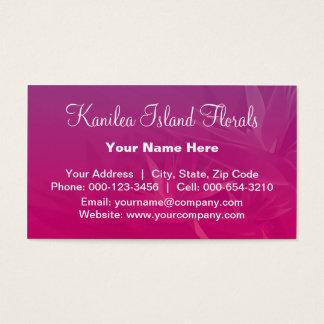birds paradise.purple ~ bc business card