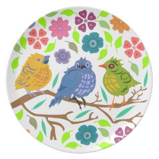 Birds Party Plates