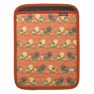 Birds pattern sleeve for iPads
