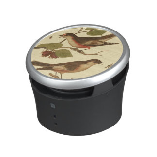 Birds Perched on Branches Eating Insects Bluetooth Speaker
