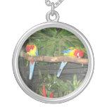 Birds Photo Necklace