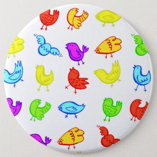 Birds Pinback Button