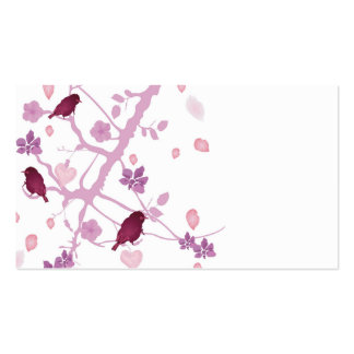 Birds Profile Card Business Cards