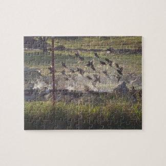 Birds Rising Jigsaw Puzzles