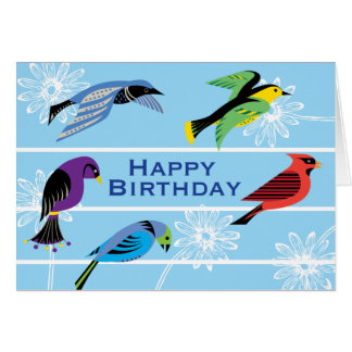 Birds Royal Greeting Cards
