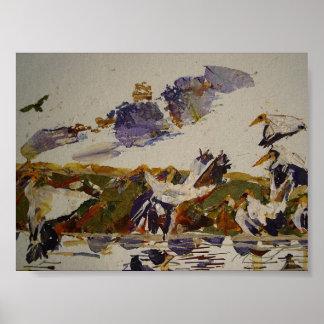 Birds Sanctuary Poster