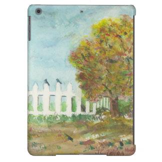 Birds Shelter in an Autumn Tree iPad Air Case