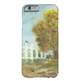 Birds Shelter in an Autumn Tree iPhone Case Barely There iPhone 6 Case