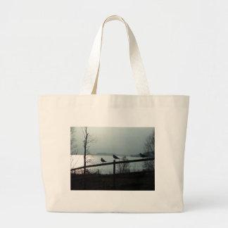 Birds silhouette bags