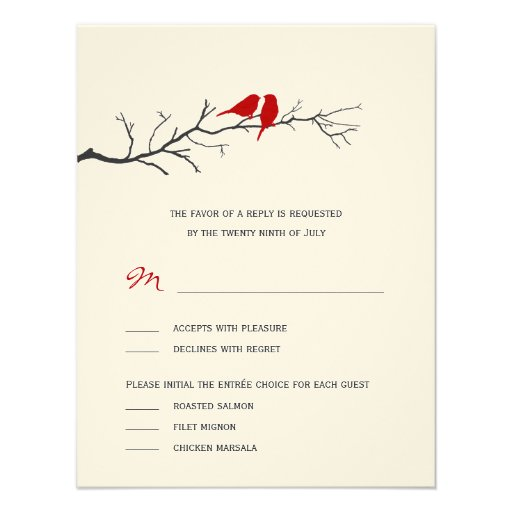 wedding rsvp cards red x 5 5 invitation card zazzle