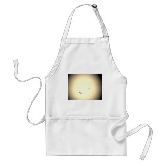 birds soaring free in the sky adult apron