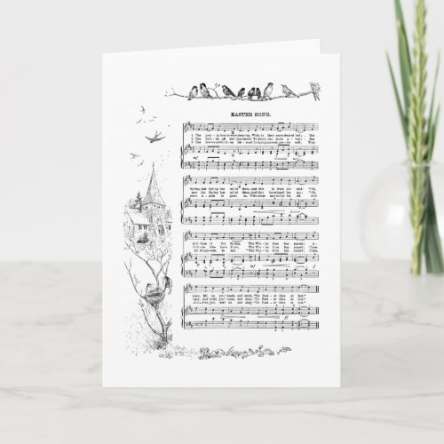 Birds, Spring and Easter Song