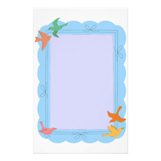 Birds Stationery