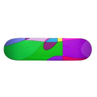 Birds' Territories Skateboard Deck