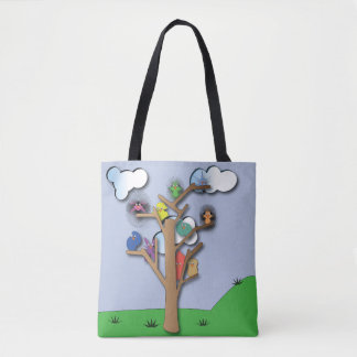 Birds that Flock Together Tote Bag