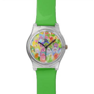 Birds! watch customize reloj
