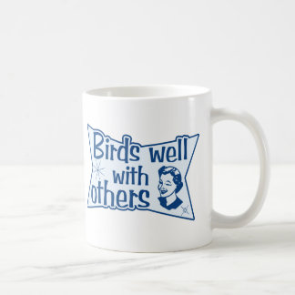 Birds Well With Others Coffee Mug