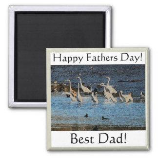 Birds Wildlife Animals Fathers' Day Magnet
