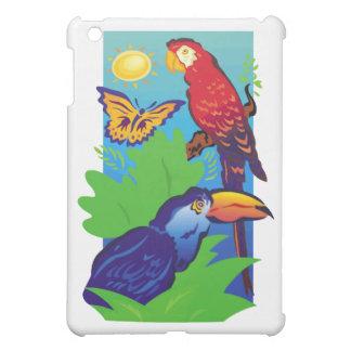 Birds with a Tropical Flair iPad Mini Cases