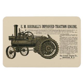 Birdsall's Steam  Engine Traction 1889 Tractor Magnet