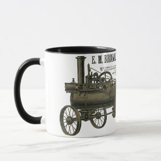 Birdsall's Steam Traction Engine 1889 Farm Tractor Mug