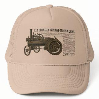 Birdsall's Steam Traction Engine 1889 Farm Tractor Trucker Hat