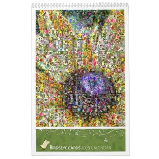 Birdseye carda 2008 calendario