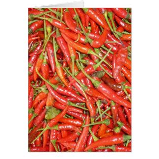 birdseye chillies card