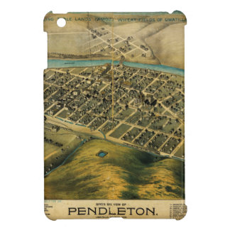 Birdseye map of Pendleton, Oregon (1890) iPad Mini Cases