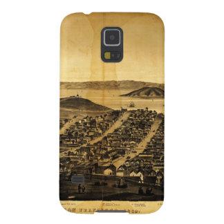 Birdseye of San Francisco from Russian Hill (1862) Galaxy S5 Case
